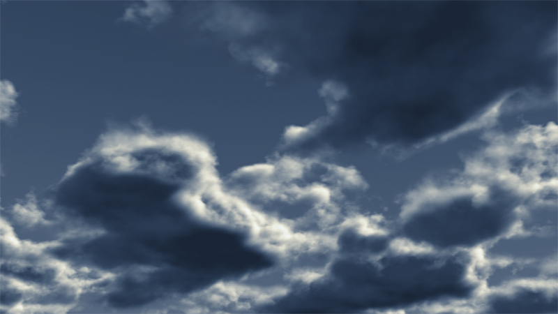iaian7 » tutorials » lightwave » faking volumetric clouds